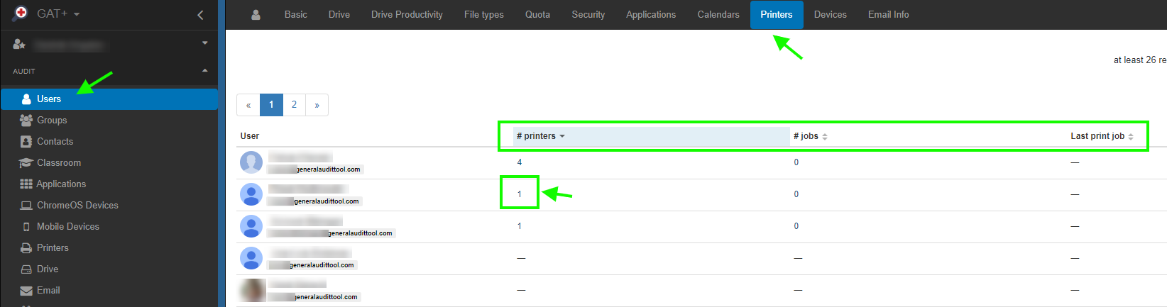 GAT+: Google Cloud Print Auditing 5