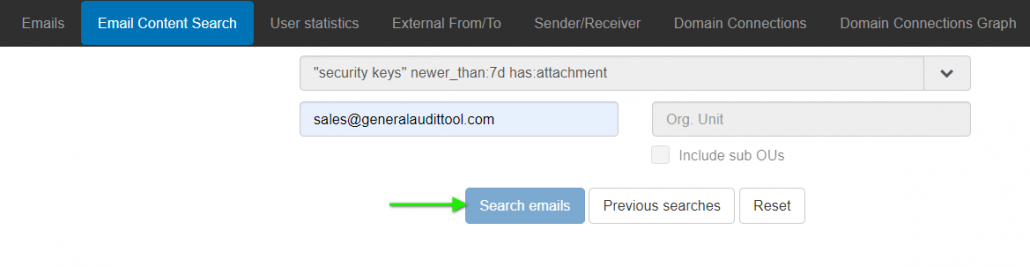You Can Bulk Download or View Email Contents with GAT Unlock 2