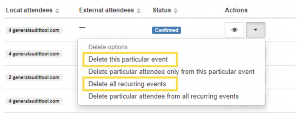 GAT+: A More Powerful Google Calendar Audit 12