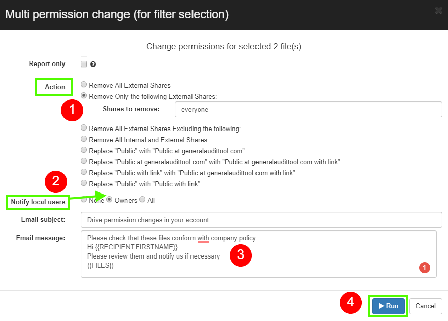 GAT+: How to Remove Public and Published Permissions in Google Docs 5