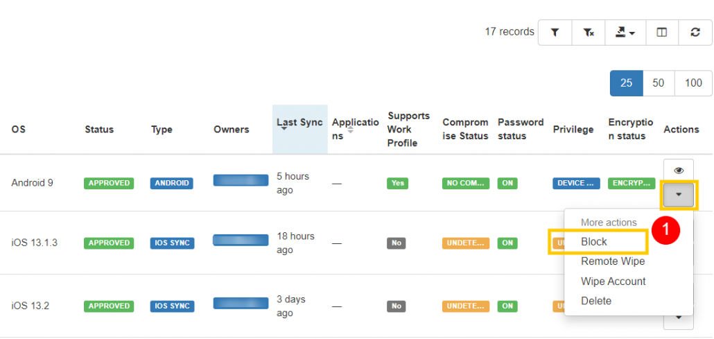 GAT+: Manage Your Organization's Mobile Devices 4