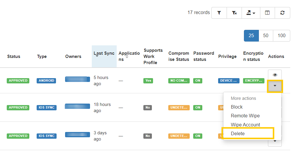 GAT+: Manage Your Organization's Mobile Devices 8