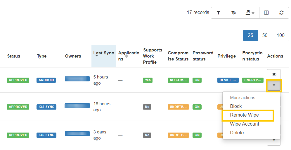 GAT+: Manage Your Organization's Mobile Devices 7